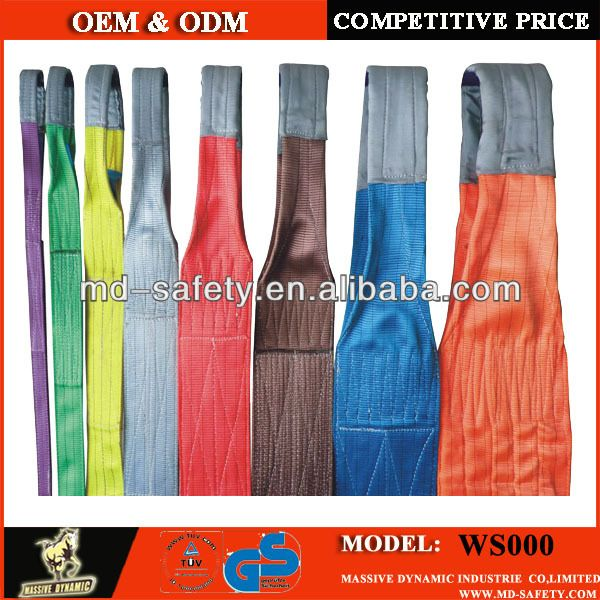webbing slings color code  2)Factory Price;  3)Fast Delivery;  4)Flexible Payment;  5)Prompt Response; http://www.tykans.com