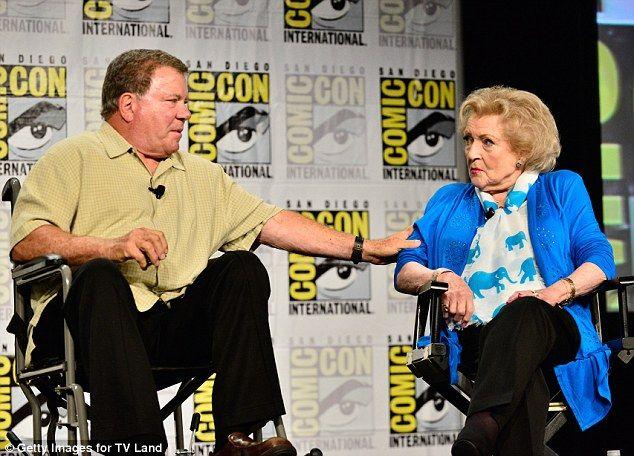 "A ""Boston Legal"" Reunion! William Shatner & Betty White!"