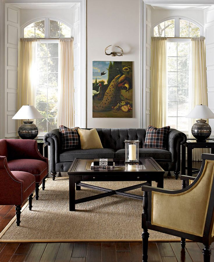25 best ideas about chesterfield living room on pinterest