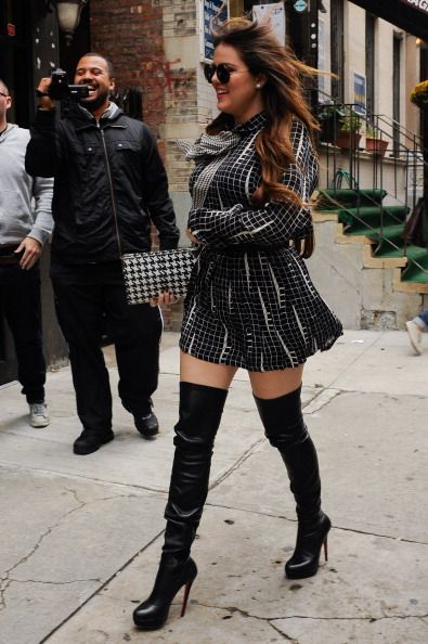 1000  images about Thigh-High Boot Trend on Pinterest | Tops