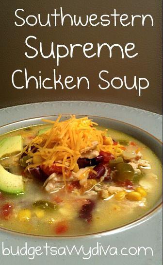 Southwestern Supreme Chicken Soup