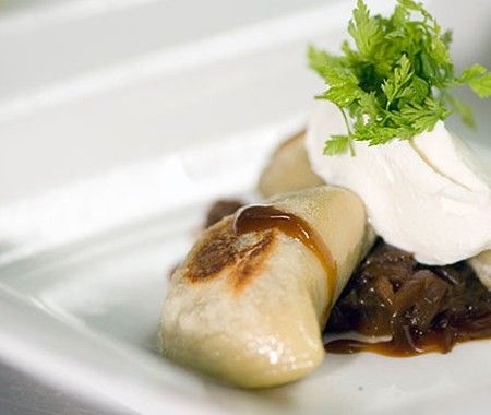 Elk Pierogies Recipe | from Calgary's Rouge Restaurant | @House & Home