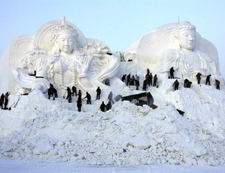 A Wonderland of Ice and Snow in China • Our Man On The Ground