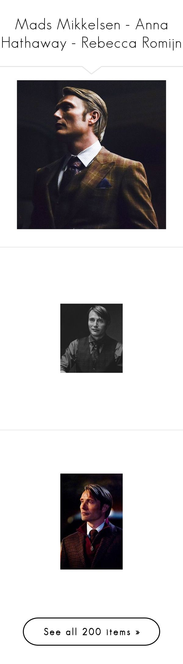 """""""Mads Mikkelsen - Anna Hathaway - Rebecca Romijn"""" by queerlillady ❤ liked on Polyvore featuring men's fashion, costumes, catwoman halloween costume, catwoman costume, cool shit, accessories, eyewear, sunglasses, home and home decor"""
