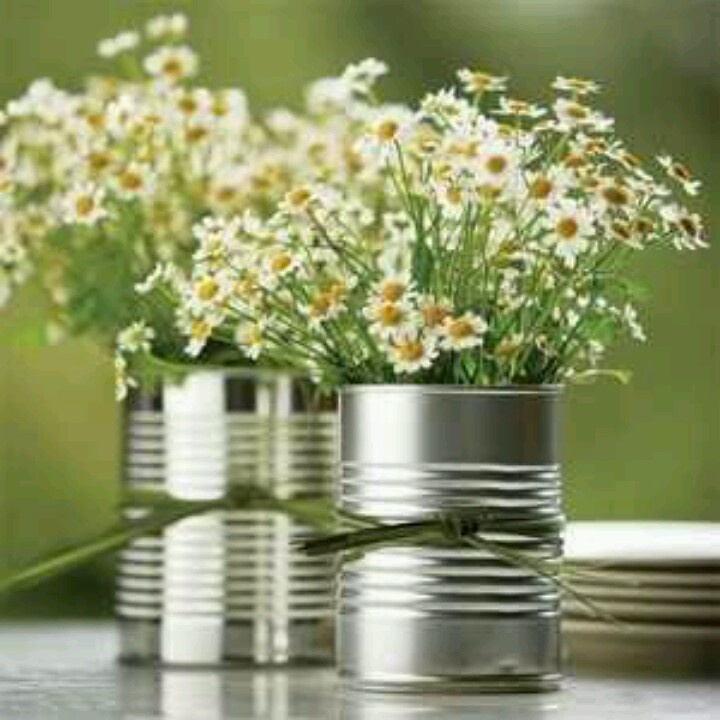Adorable and so easy!  Wow save those cans