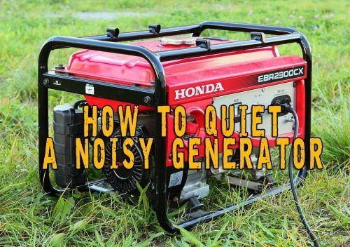"""6 Ways to a Quieter Emergency Generator Homesteading  - The Homestead Survival .Com     """"Please Share This Pin"""""""
