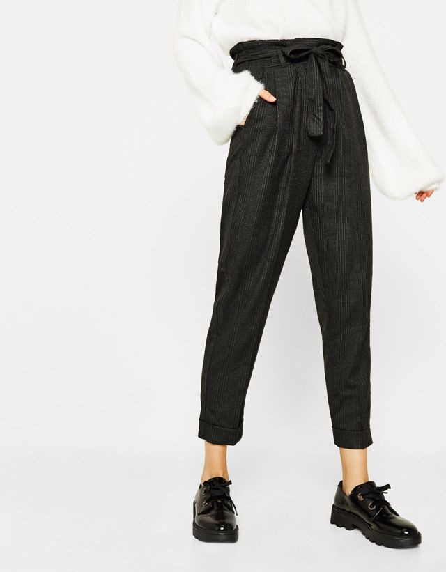 Pants - CLOTHING - WOMAN - Bershka United States