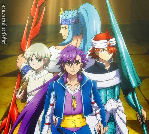 "Download TV Anime ""Magi: Sinbad no Bouken"" Opening Theme Single PENGUIN RESEARCH – Spotlight"