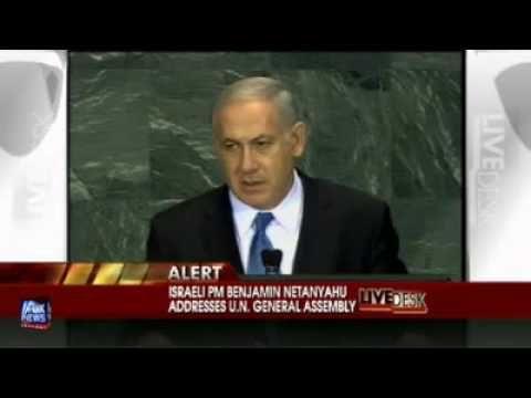 Israeli Prime Minister Benjamin Netanyahu U.N.Speech_9/24/2009