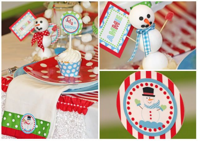 Let It Snow Themed Party