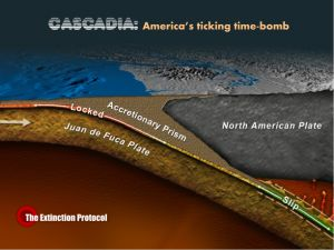 Research shows Cascadia Subduction Zone reacts to tidal forces; 'slow slip' building up pressure on fault