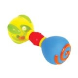 Nuby Barbell Teether Toy