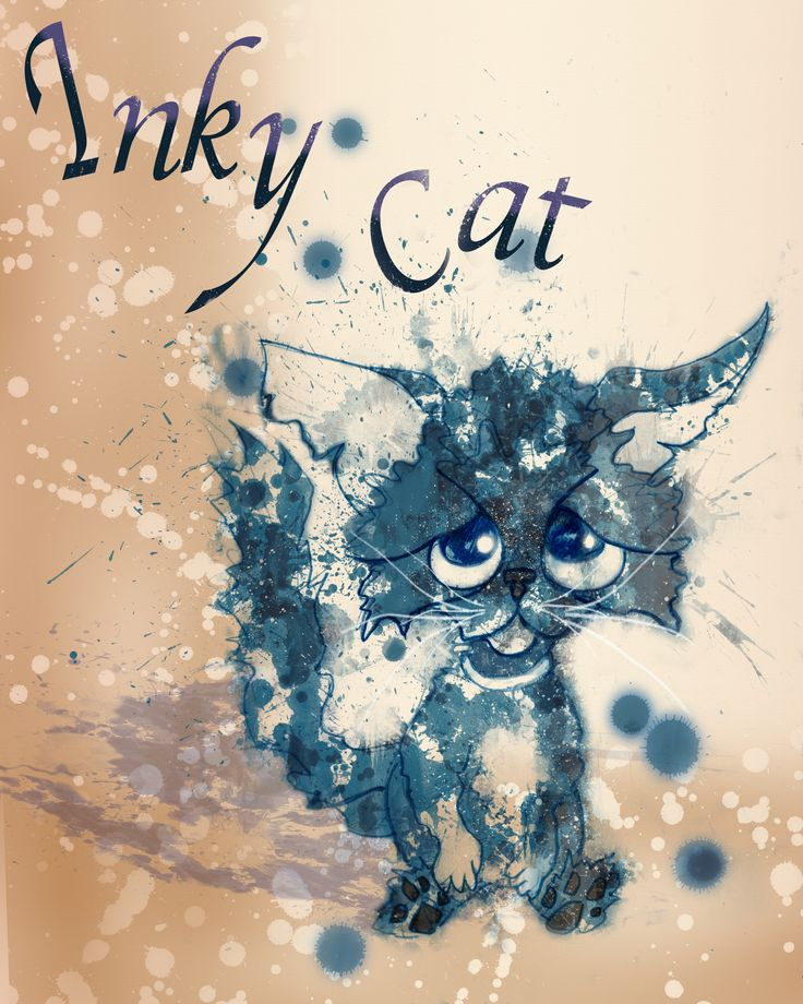 Cat doodle 8x10 inches free to down load for personal use  just give us a comment  a repin #free #racheljenkinson