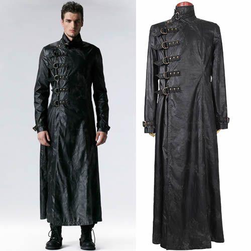 Military style overcoat