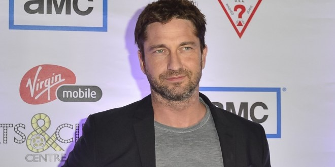 Too cute..two pics for Gerard Butler!!!