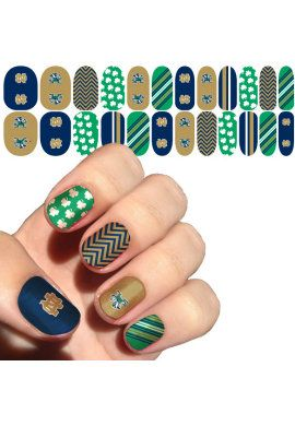 University of Notre Dame Nail Decals