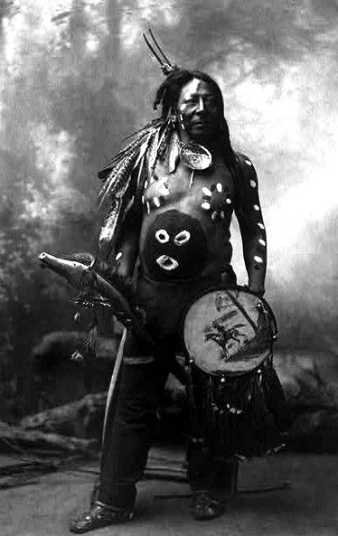 Last Horse, Native American Sioux. Photographed 1899. …
