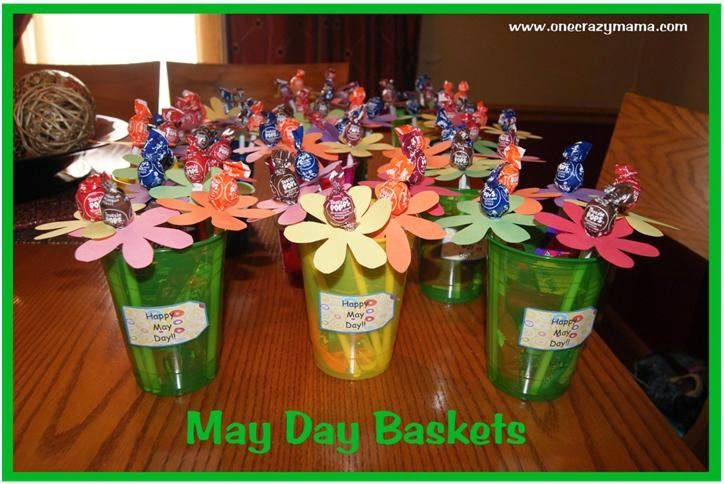 Labour May Day Baskets Traditions Craft Ideas Template for Adults Kids