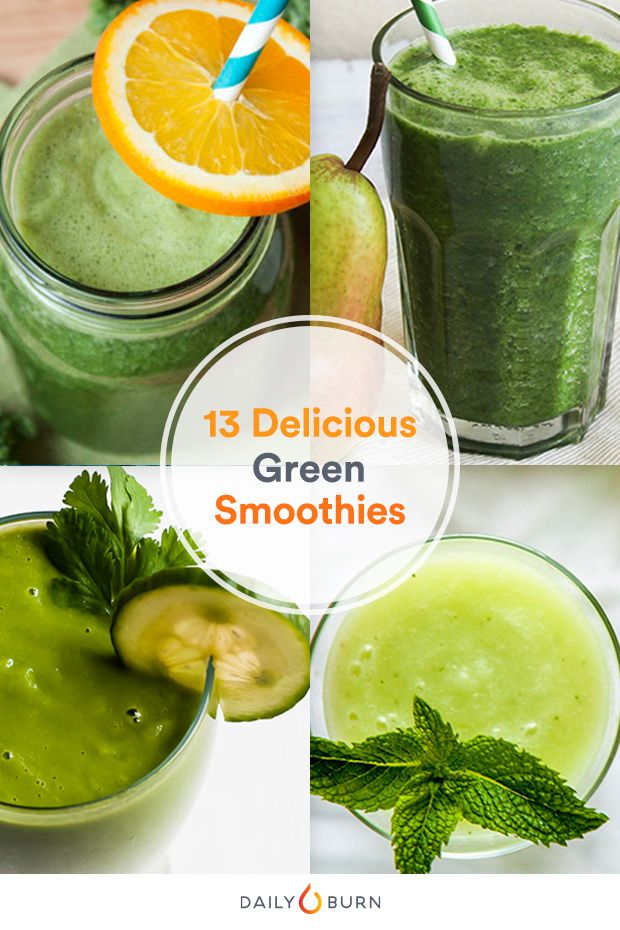 13 Deliciously Refreshing Green Smoothie Recipes