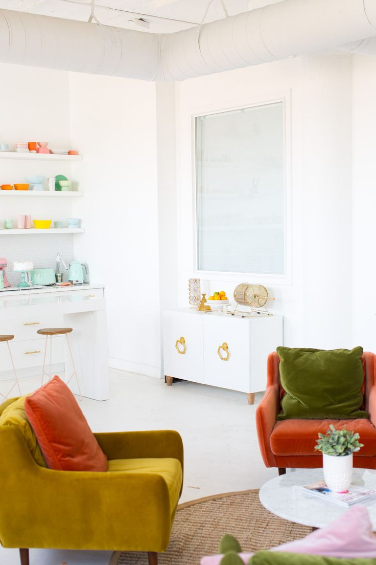 Pink Window Shades Punch Up the Sugar & Cloth Studio
