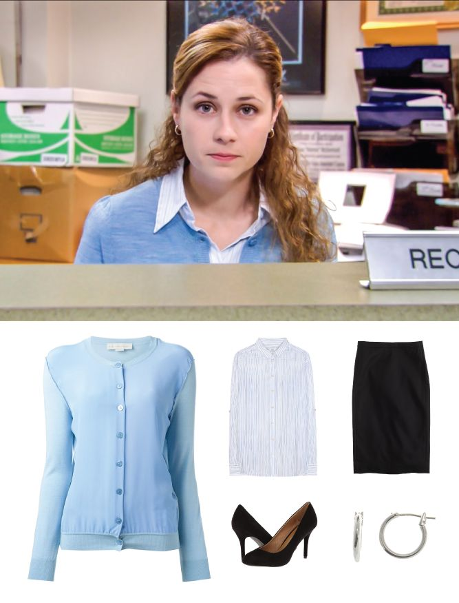 "Pam is an example of Columbina in a modern point of view. Obviously nowadays people rarely ever dressed up as Columbina did, but at the same time Pam is considered to be the ""hot"" one on the Office."