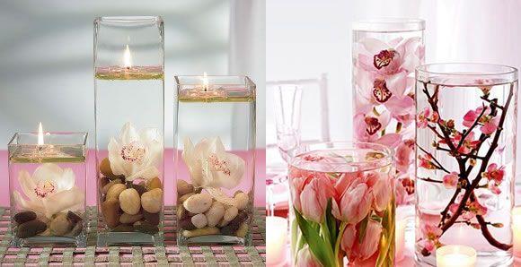 Download mesa para bodas economicos con velas kamistad celebrity centros de mesa - Centros con velas ...