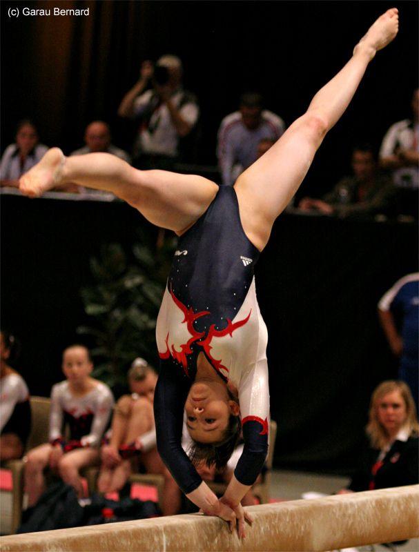 Marine Petit (France). gymnastics gymnast balance beam #KyFun m.10.2