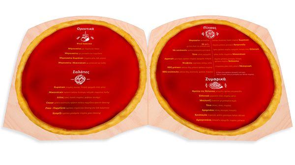 Pizza Restaurant Catalog on Behance
