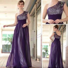 vestidos largos en color violeta 3                                                                                                                                                      Más