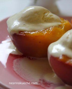 Hafif Mutfak: Dondurmalı Şeftali Tatlısı