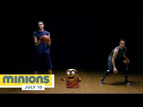 Minions - Splash Brothers Promo ft. Stephen Curry and Klay Thompson (HD) - Illumination - YouTube