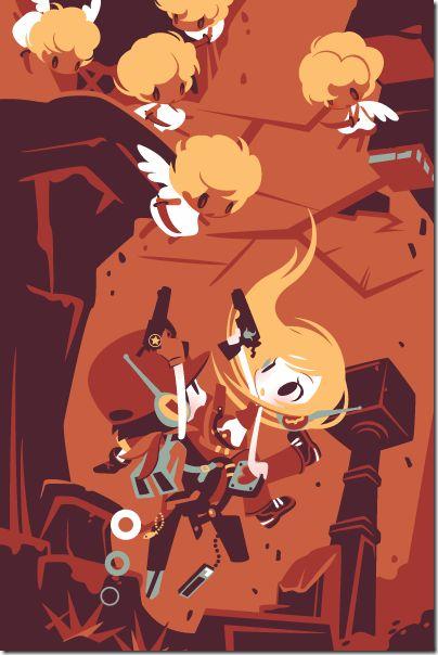 Cave Story 3D Promo Art Made From Shinonoko