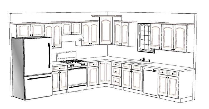 10 x 12 kitchen layout 4 12x12 kitchen design layouts for 12x12 kitchen layout