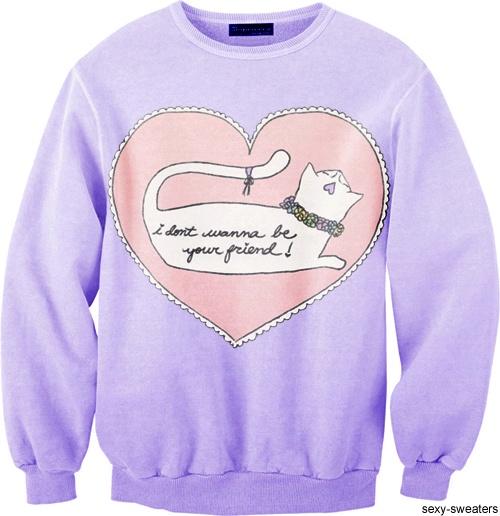 sexy Katzen Pullover