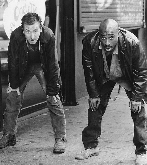 Still of Tim Roth and Tupac Shakur in Gridlock'd (1997)
