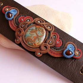 TAFA: The Textile and Fiber Art List: DILETTANTE Soutache Jewellery and Accessories