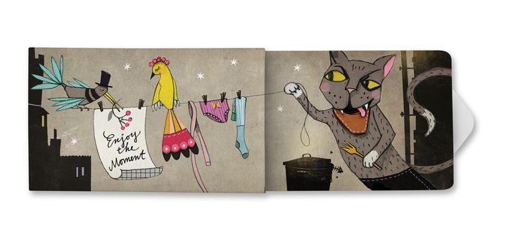 Mit gutem Gewissen visuell erfrischen!   #Katrina Lange sorgt für ein Schmunzelfaktor mit ihrem Motiv #Enjoy. In der dritten Serie präsentiert #Charitygums 12 neue #Designs. Neue #Künstler gestalten die #Verpackung für unsere #veganen, #Zucker und #Aspartam freien #Kaugummis. www.charitygums.de