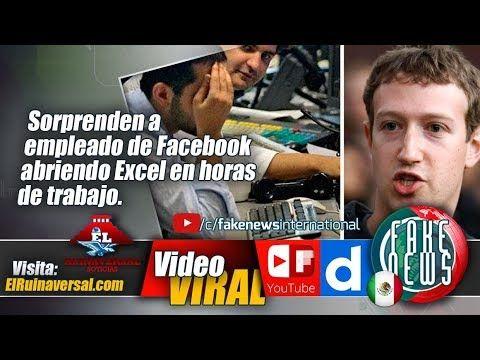 Sorprenden a empleado de Facebook abriendo Excel en horas de trabajo.