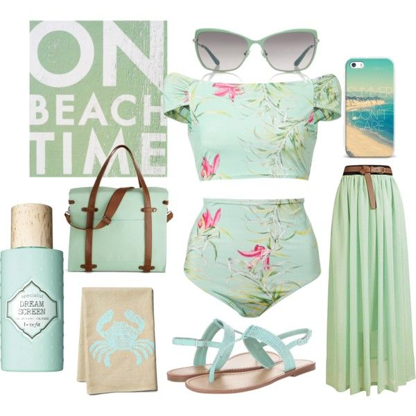 """""""Beach - Toned Spring"""" by prettyyourworld on Polyvore"""