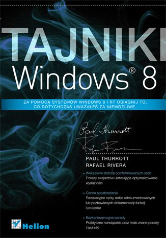 """Tajniki Windows 8""  #helion #IT #ksiazka #windows8 #windows #microsoft"