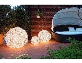 Luxury LED Kugelleuchten aus Aluminiumgeflecht oder cm Durchmesser
