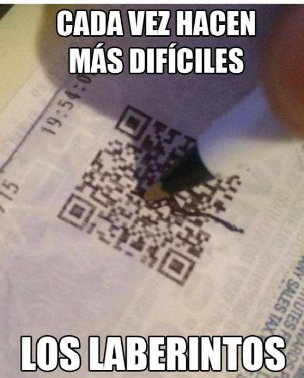 Laberintos difíciles. #humor #risa #graciosas #chistosas #divertidas