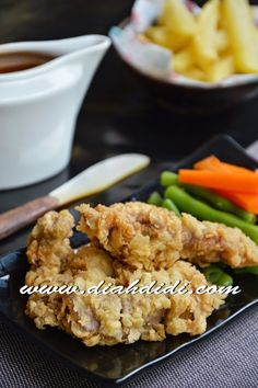 Diah Didi's Kitchen: Sirloin Crispy Steak
