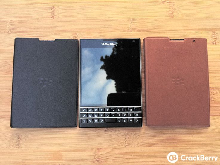 First look: Leather flip cover case for the BlackBerry Passport! | CrackBerry.com