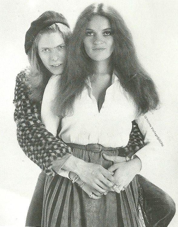 David Bowie & Dana Gillespie 1971 Source: David Bowie: Vibrations Book