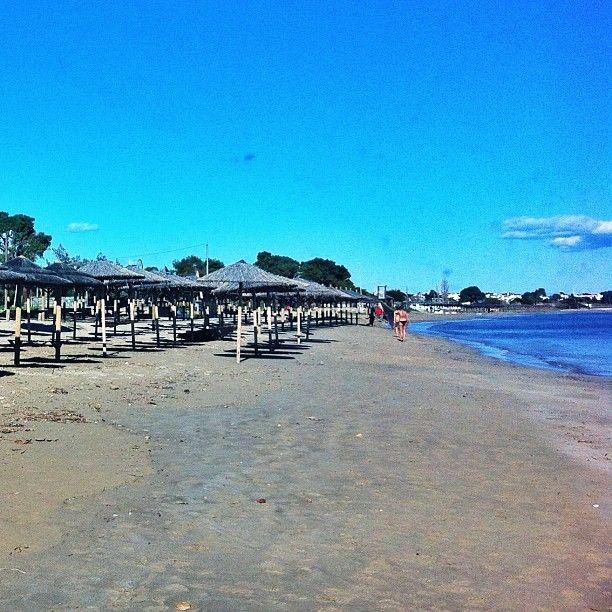 Loutsa Main Beach , 30km from Athens