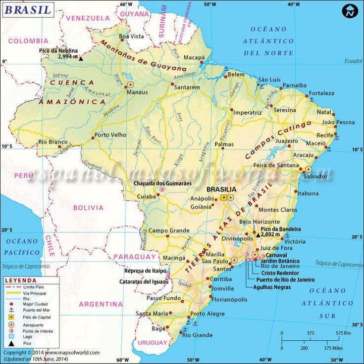 Mapa #Brasil