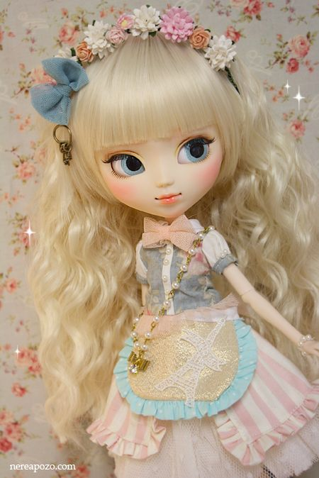 """Nerea Pozo Art: Ooak PULLIP Doll """"ARABELLA SWAN"""""""