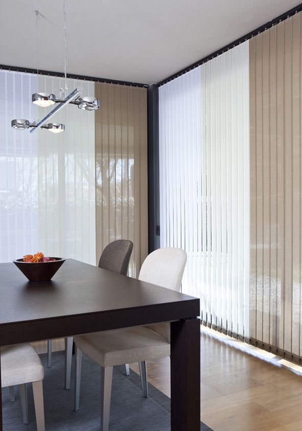 An special fabric in mind? Let us produce the perfect vertical blind for your style!