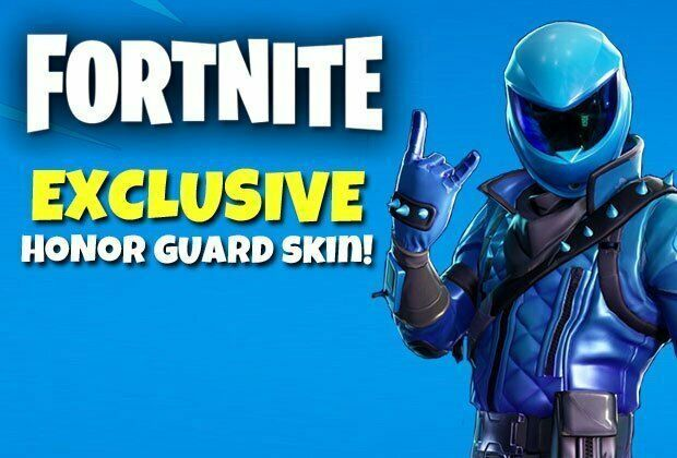 Fortnite Honor Guard Skin Code - Fast 1 Second Delivery
